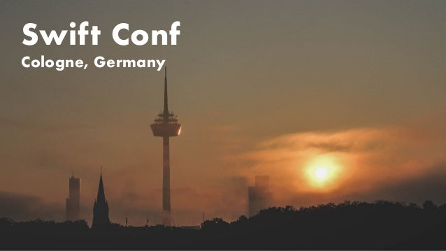 Swift Conf Cologne, Germany