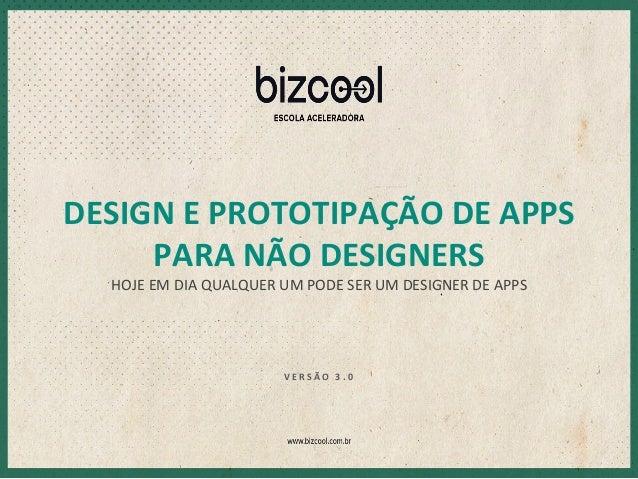 Design e Prototipação de Apps para não- designers