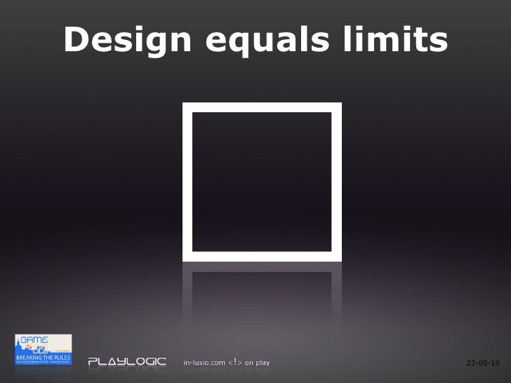Design equals limits 23-05-10