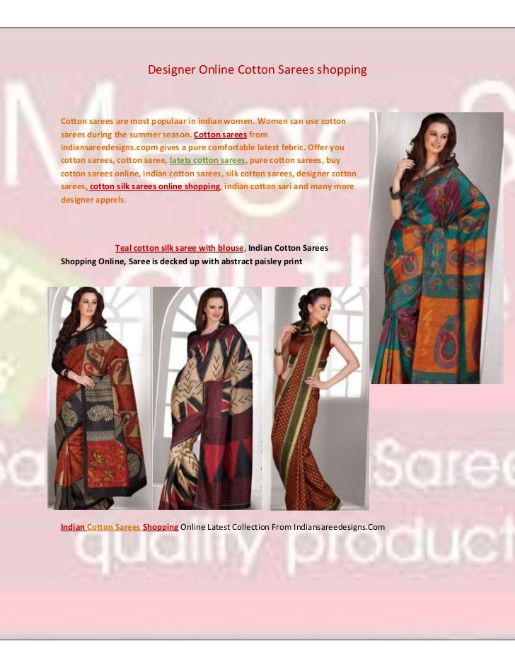 4659630775970Designer Online Cotton Sarees shopping<br />Cotton sarees are most populaar in indian women. Women can use co...
