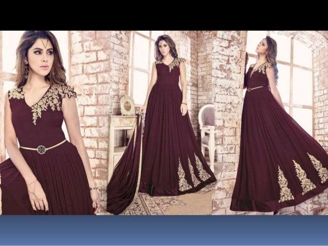 60ead8b17c Latest Designer Anarkali dresses Designs: Indian Anarkali Gown Dress & Long Party  Wear Anarkali suit