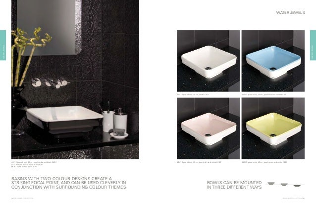 ... Platinum £533 BOWLS CAN BE MOUNTED IN THREE DIFFERENT WAYS; 23.