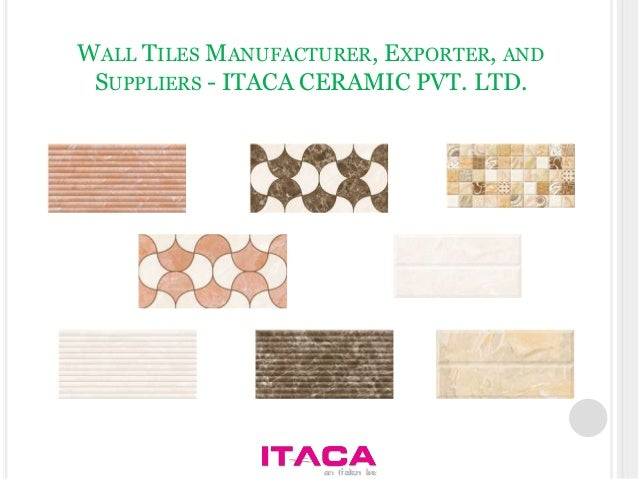 Ceramic Wall Tiles Manufacturers In India. high depth elevation ...