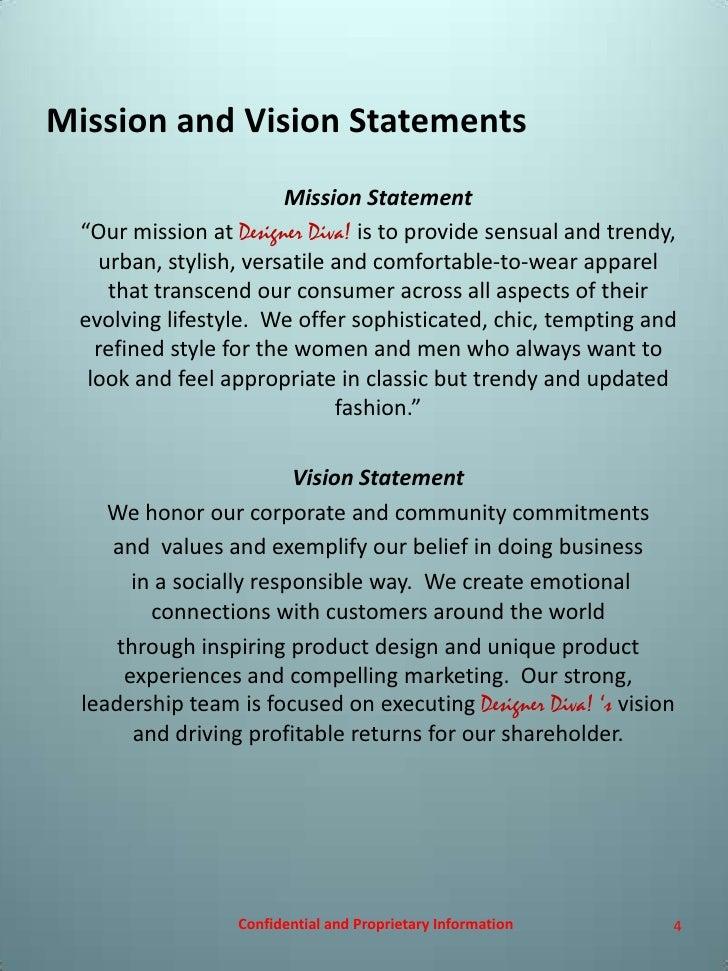 designer statements