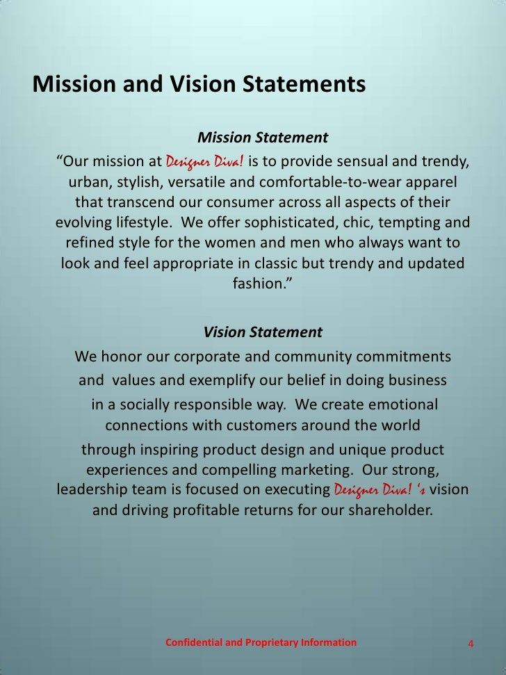 Clothing and Apparel Retailer Mission Statements Mission