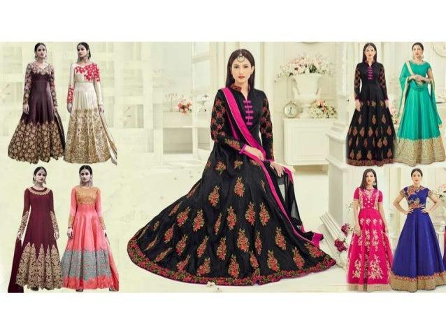Anarkali dresses latest designs images