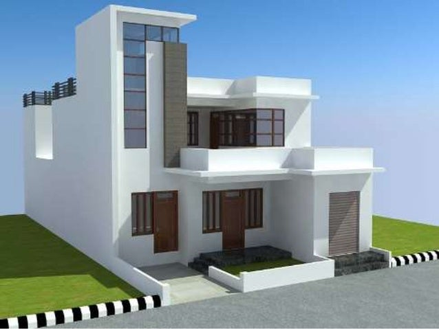 Designer houses designer homes for Home exterior design india residence houses