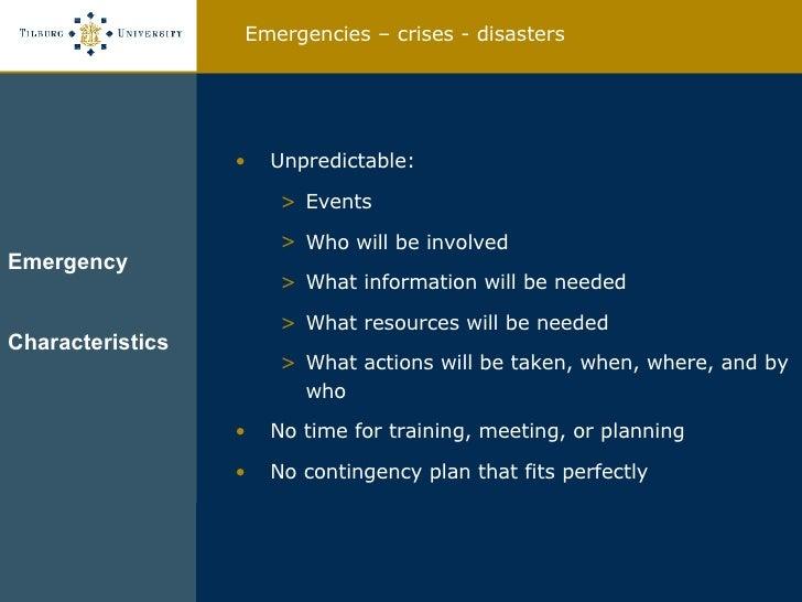Design of Emergency Response Management Information Systems Slide 3