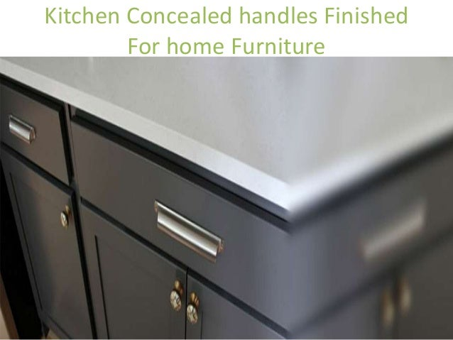 Merveilleux Aluminum Handles For Great Kitchen Looks; 4. Kitchen Concealed ...