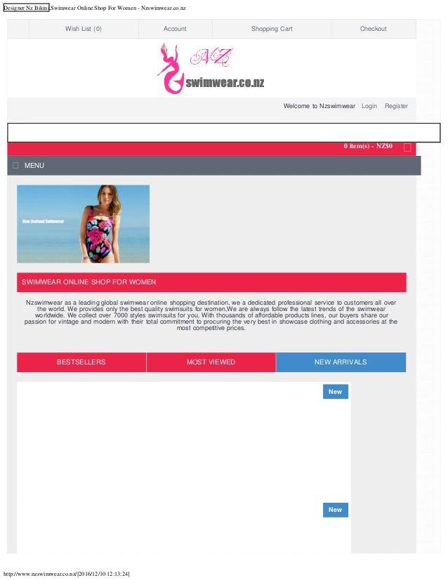 Nz designers online shopping
