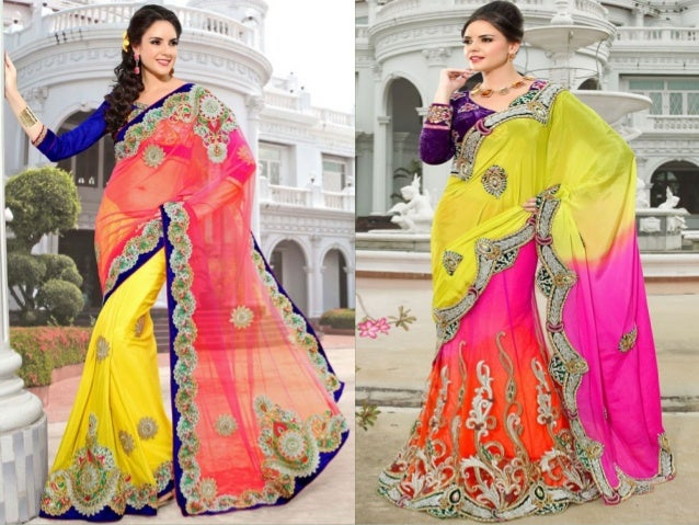 Designer Party Wear Sarees Enjoy Shopping With DesignerSareeSalwar.com www.DesignerSareeSalwar.com