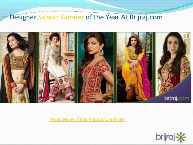 Designer Salwar Kameez of the Year At Brijraj.com Read More- https://brijraj.com/suits