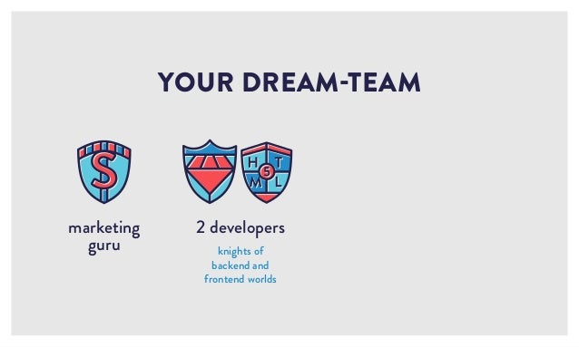 2 developers knights of backend and frontend worlds YOUR DREAM-TEAM marketing guru