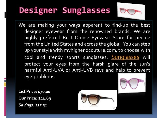 buy designer sunglasses  Buy Designer Sunglasses