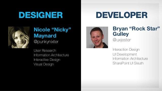 Designer vs Developer - A Battle Royal v1.0 Slide 2