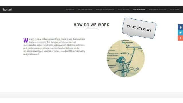 bysted  HOW DO WE WORK     HOW DO WE WORK  w e ivork in close collaboration ivith our clients to help them and their .  + ...