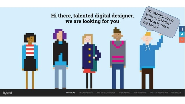 Hi there,  talented digital designer,  we are looking for you  WHO ARE WE