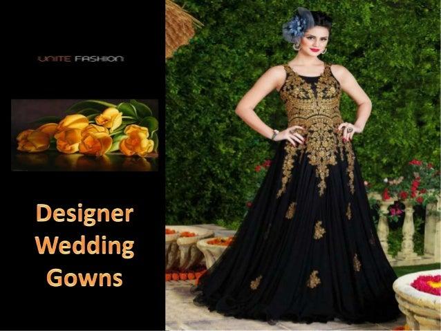 Designer Wedding Gowns Online in India - UniteFashion