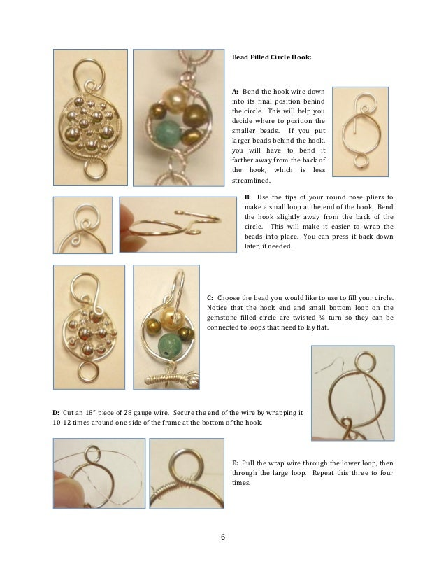 Designer Wire Wrapped Clasp Hooks