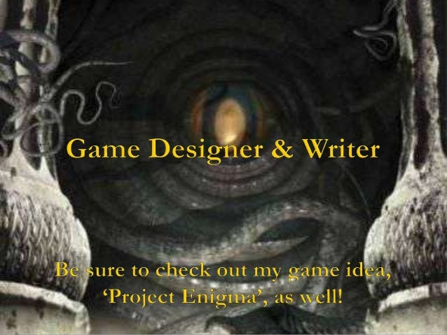 It is my endeavour to create games that are truly enjoyable to play and    give something to the player that they cannot g...