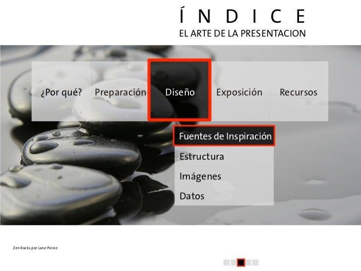 El arte de la presentacion (III): Diseño Slide 2