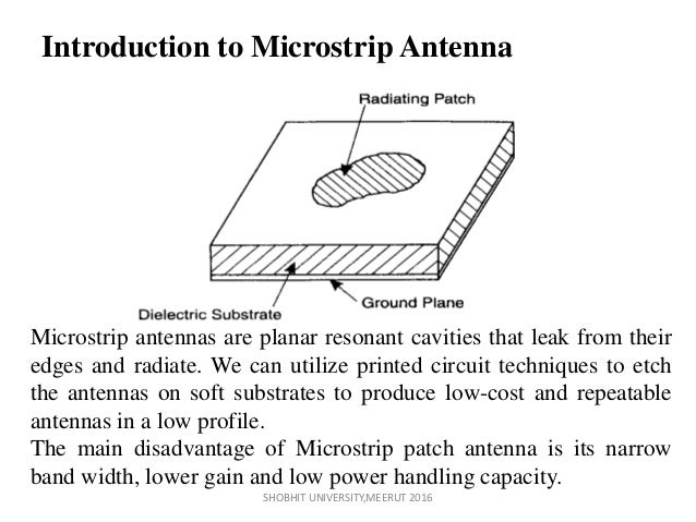 Design and Analysis of Microstrip Antenna for UWB Applications