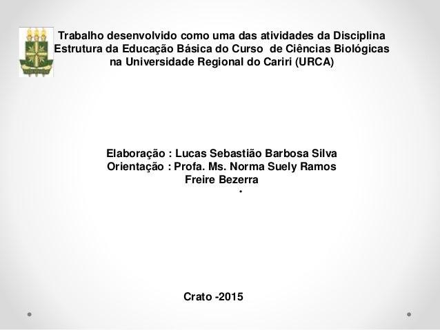 Estrutura do Sistema Educacional Brasileiro Slide 2