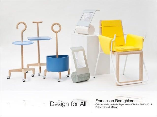 Design for all eng for Design della moda politecnico milano opinioni