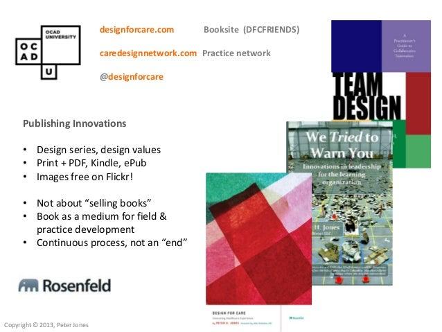 Design for Care Toronto launch 7.10.13 Slide 2