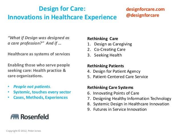 Design for community care Slide 3