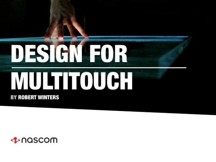 Design for multitouch