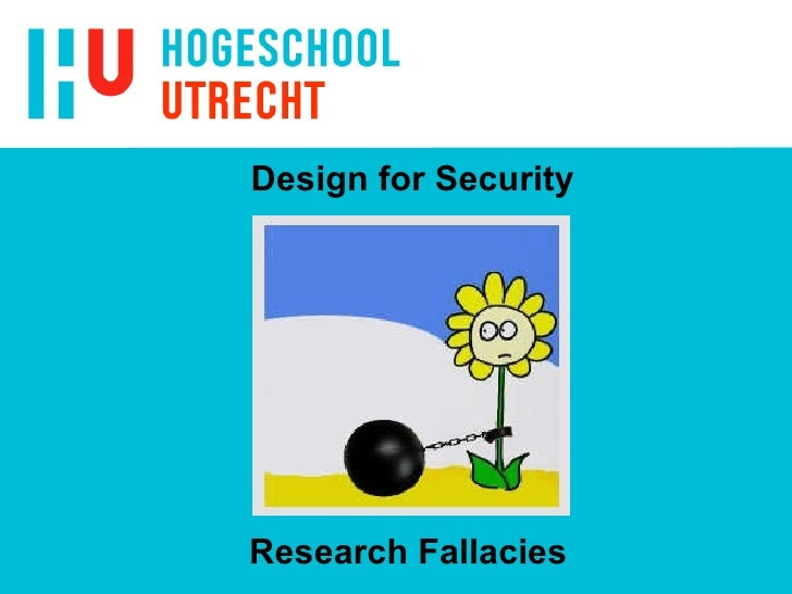 Design for Security Research Fallacies