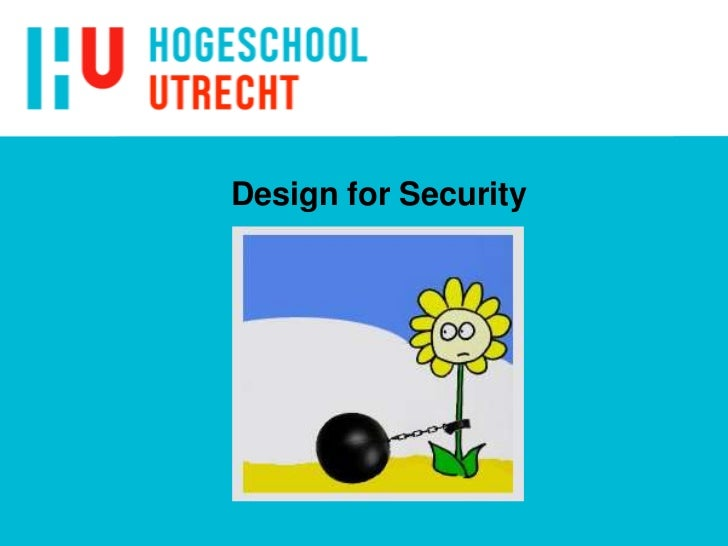 Design for Security<br />
