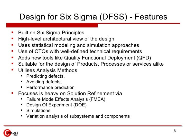 defining design for the six sigma Join richard chua for an in-depth discussion in this video, steps in the define phase, part of six sigma foundations.