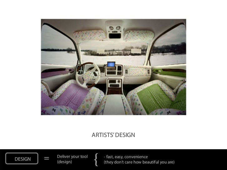 ARTISTS' DESIGNDESIGN   =   Deliver your tool             (design)            {   - fast, easy, convenience               ...
