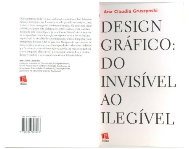 Design gráfico do invisível ao ilegível