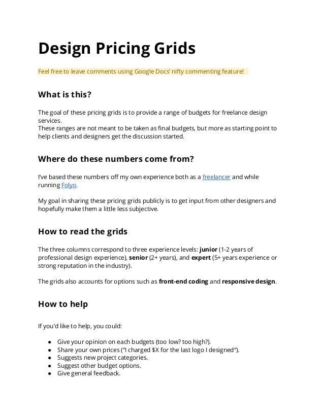 5b032adcc4 Design grid price