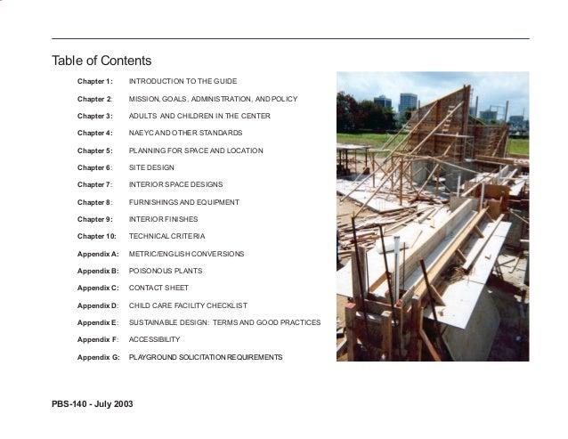 child care centre design guide Slide 3