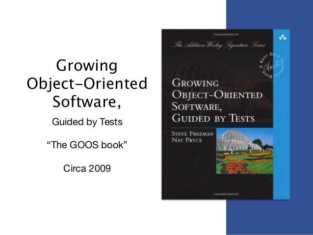 growing object-oriented software guided by tests amazon