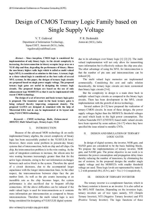 ieee papers on vlsi design