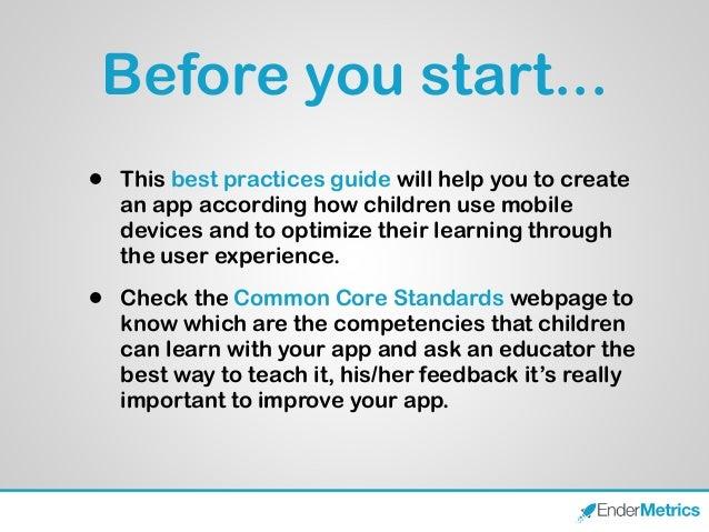 Designing apps for children Slide 2