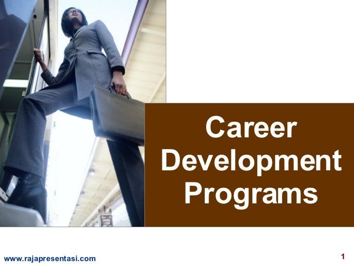 Career Development Programs