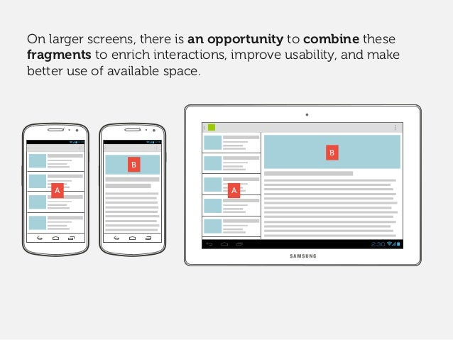 Evernote also relies heavily on flexible components, and lots of fragment-specific design tweaks. It's this combination of d...