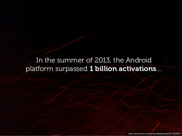 Source: The Internet of things is Android and its everywhere the growing number of Android-based interfaces found in cars....