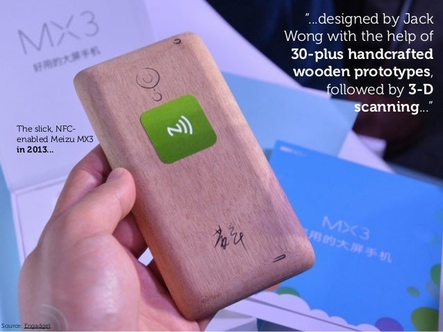 """""""...designed by Jack Wong with the help of 30-plus handcrafted wooden prototypes, followed by 3-D scanning..."""" Source: Eng..."""