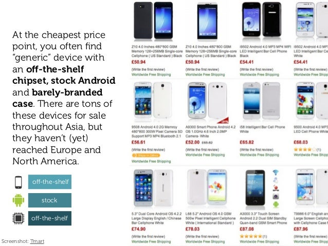 """At the cheapest price point, you often find """"generic"""" device with an off-the-shelf chipset, stock Android and barely-branded..."""