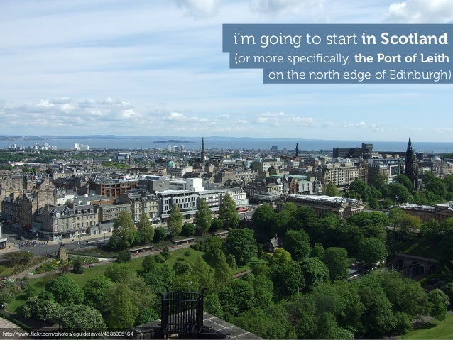 (or more specifically, the Port of Leith i'm going to start in Scotland on the north edge of Edinburgh) http://www.flickr.co...