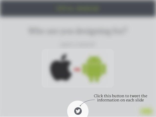 UX and UI - Designing for Mobile Slide 3