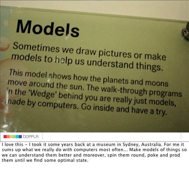 DOPPLR                    DOPPLR           DOPPLR I love this - I took it some years back at a museum in Sydney, Australia...