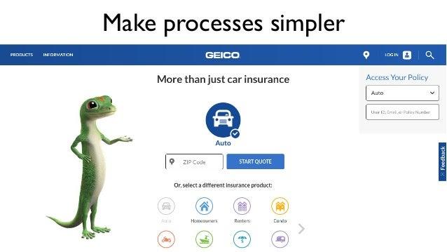 Make processes simpler
